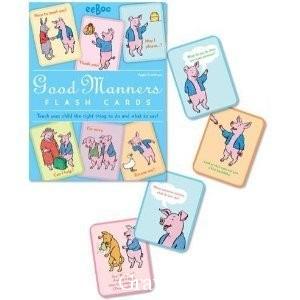 Eeboo Good Manners Cards