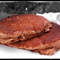 Banana Flaxseed Pancakes