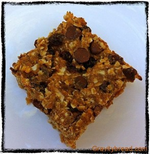 Wheat Germ Granola Bars