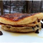 kefir chip pancakes