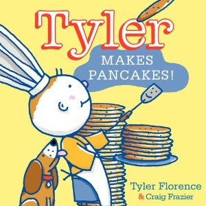 tyler makes pancakes