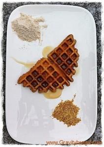 30 Minute Whole Wheat Waffles
