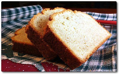 Gluten free pound cake