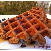 mascapone waffles