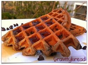 Mascarpone Chocolate Waffles