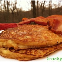 gluten free apple pancake