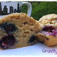 Dairy Free Blueberry Chia Muffins