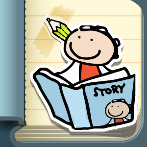 kid in story