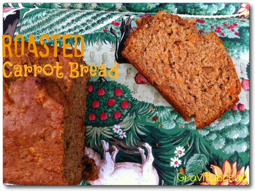 roasted carrot bread