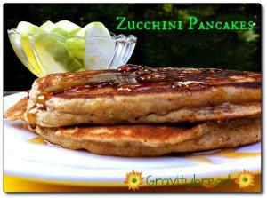 Kefir Zucchini Pancakes