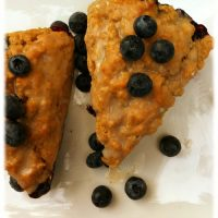 Blueberry Yogurt Scones