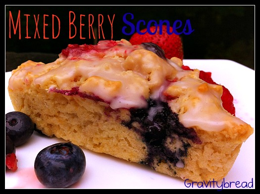 Mixed Berry Tangerine Scones Recipes — Dishmaps