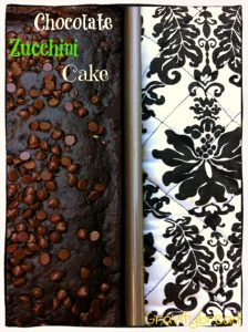 Dairy Free Chocolate Zucchini Cake