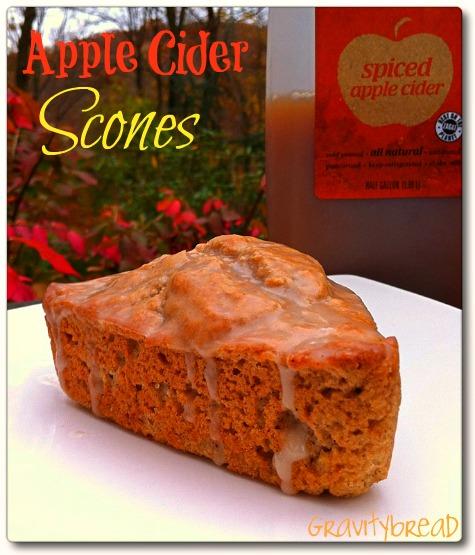 apple cider scone