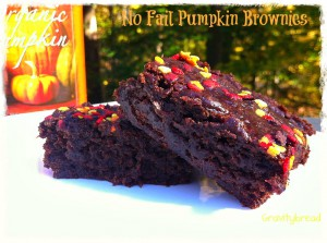 No Fail Pumpkin Brownies