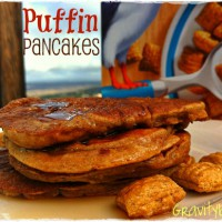 Puffin pancake
