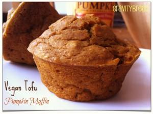 Vegan Tofu Pumpkin Muffins