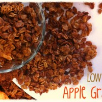 apple granola agave