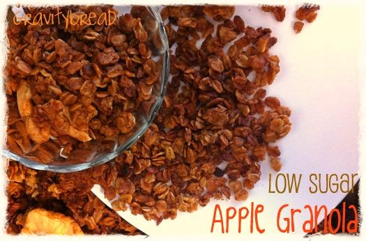 apple granola agave