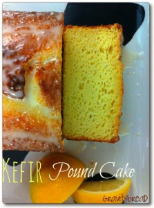 Kefir Lemon Pound Cake