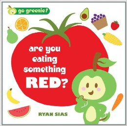 eating something red