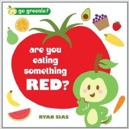 eating something red