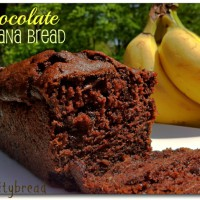 Chocolate Kefir Banana Bread