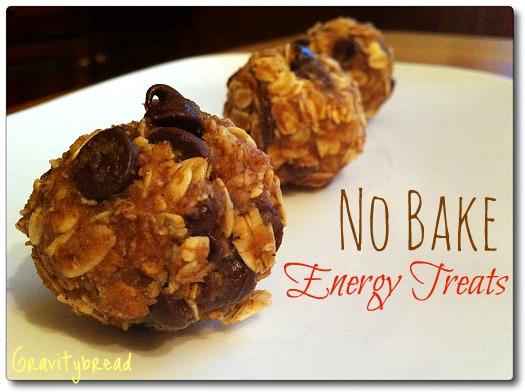 No Bake Energy Treats