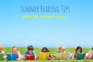 Prevent Summer Reading Regression! See what the research says….