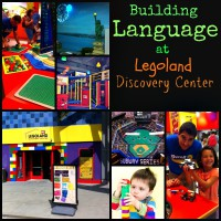 Building Language with LEGOS, a trip to LEGOLAND Discovery Center