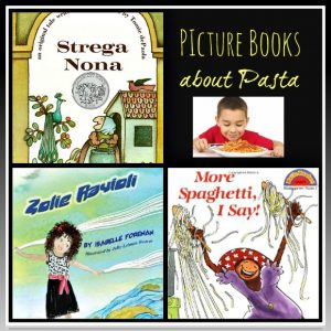 Picture books about Pasta