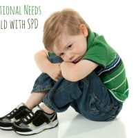 The Emotional Needs of a Child with a Sensory Processing Disorder