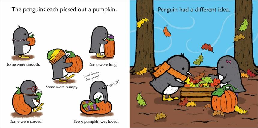 penguin and pumpkin book