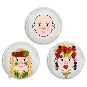 Building Language with Mr. and Ms. Food Plates