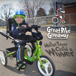 Great Bike Giveaway: Enter To Win a Free Adaptive Bike!