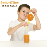 Sensory Activities at the Table