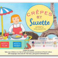 crepes by suzette