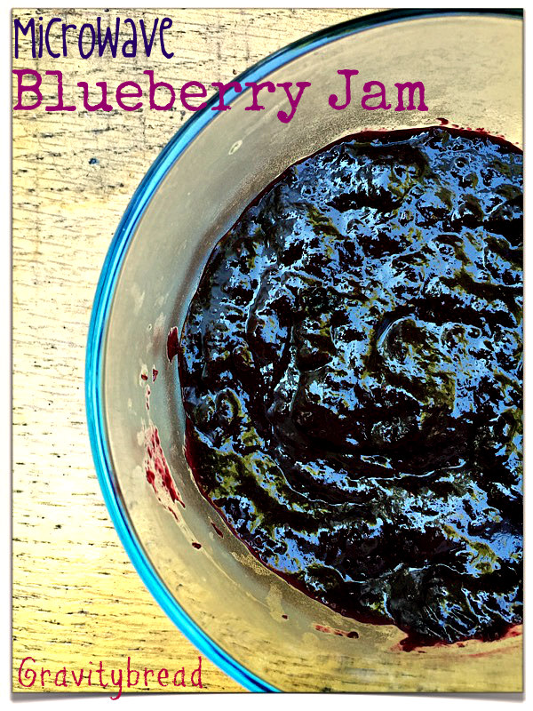blueberry jam microwave