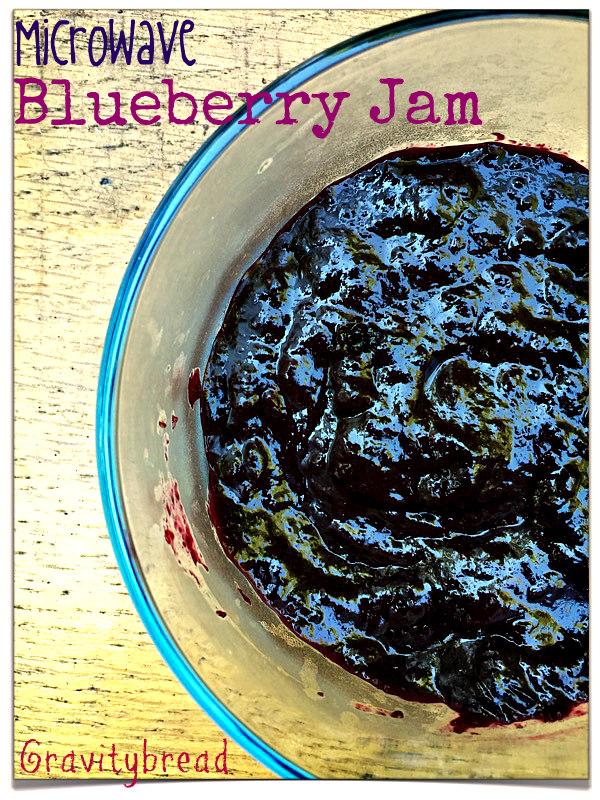 blueberry jam microwave