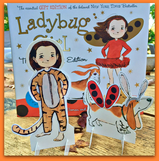 ladybug girl fun edition paper dolls