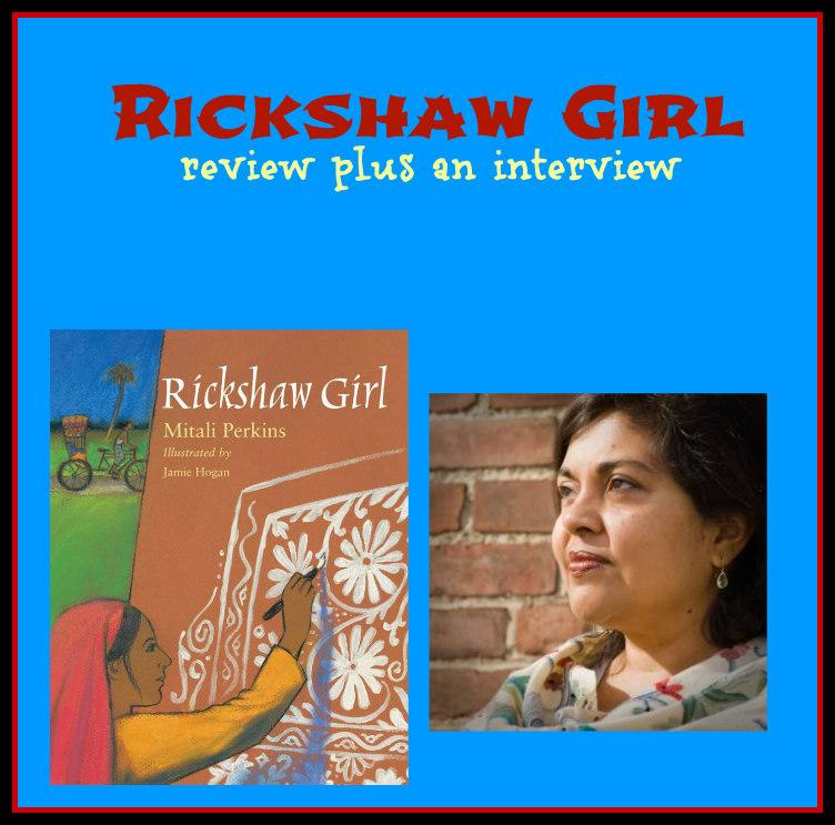 rickshaw girl collage
