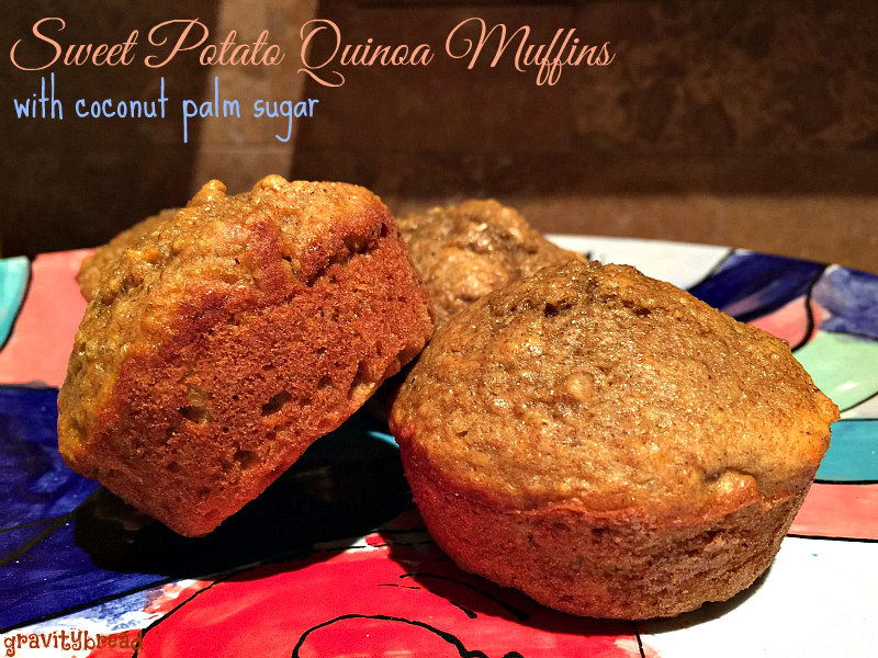 sweet potato muffins quinoa