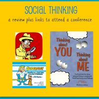 Social Thinking…product reviews plus a link to attend a conference…