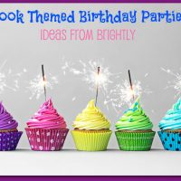 Book Themed Birthday Parties with Brightly