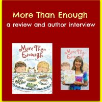 More Than Enough, review and author interview