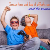 Screen Time and how it affects social skills…