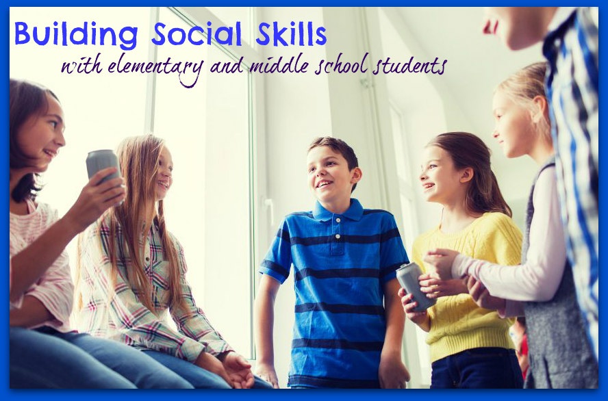 social skills collage