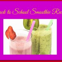 Back to School Smoothie Recipes: A Guest Post from Nicole Vidmar
