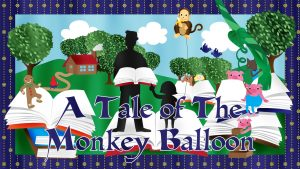 A Tale of The Monkey Balloon is available!