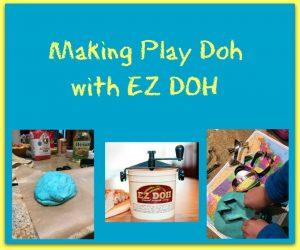 Making Play Dough with EZ DOH